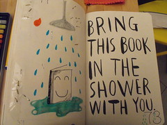 WTJ 4 Bring this book in the shower with you   Camilla