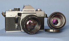 Hanimex praktica l camera with lenses shopgoodwill