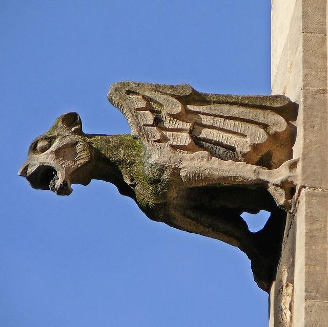 Gargoyle, St Mary, Castlegate, York
