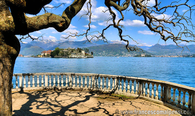 Stresa - view on Isola Bella (Palace Borromeo)