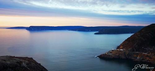 canada sunrise newfoundland stjohns signalhill fortamherst