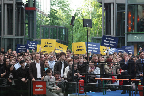 Mehr als 3.000 JUler kamen ins Sony-Center