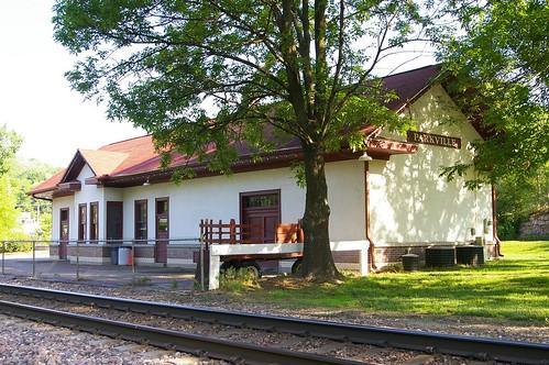 Parkville, MO train station