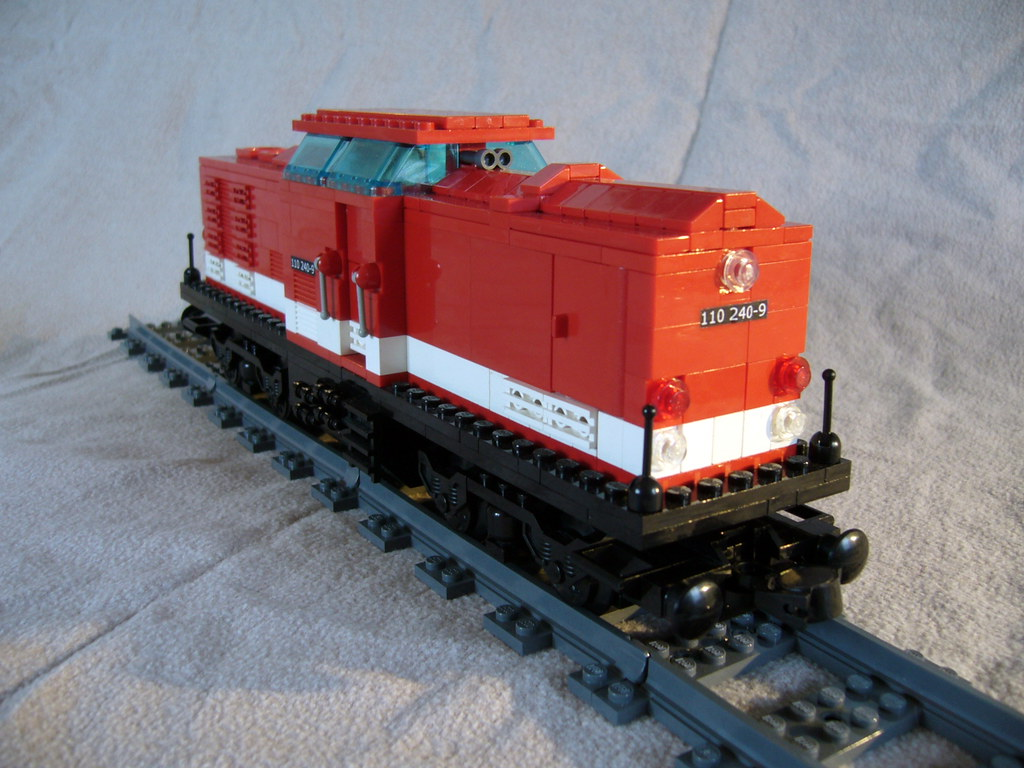 lego diesel train instructions