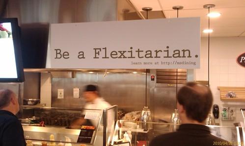 「彈性素」(flexitarian)。(來源:Jonathan McPherskesen)