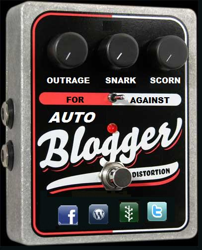 Auto-Blogger Floor Pedal