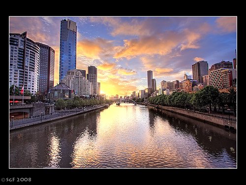 A Melbourne Sunset