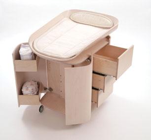 Muebles cambiadores para beb s - Cambiadores para cunas ...