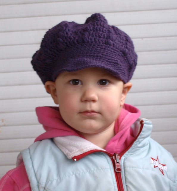 OMG! Heart » Pattern: Newsboy Cap by Red Heart
