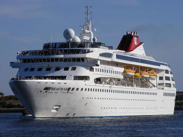 Cruise Ship BRAEMAR Port Of Tyne  Flickr  Photo Sharing