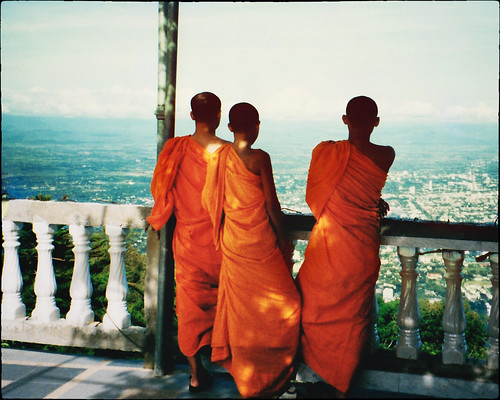 From the top of the Doi Suthep mountain