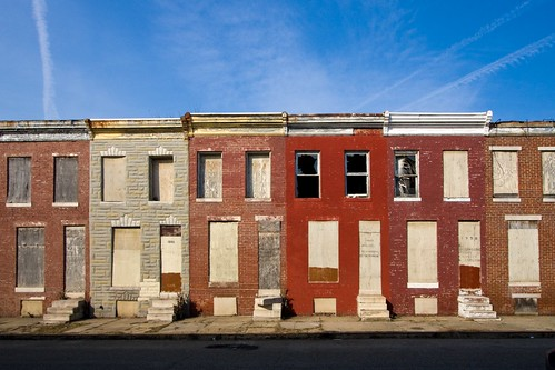 Row Houses In Baltimore Md : Urban decay the new millennial