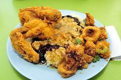 meal, chicken meat, panko, fried food, chicken fingers, meat, fritter, pakora, produce, food, crispy fried chicken, dish, cuisine, fried chicken,