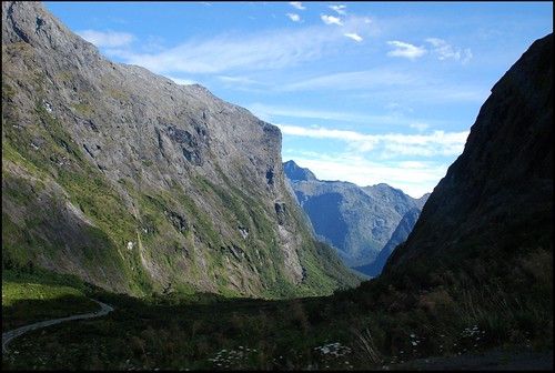 Roadway to Milford Sound