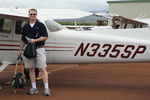 Chris, post-flight