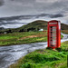 Red Phone Booth by John R Rogers