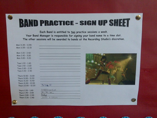 sign up sheet app