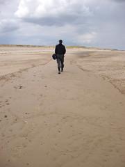 horizon, sand, aeolian landform, natural environment, mudflat, desert, landscape,