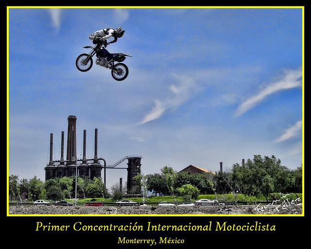 Parque Fundidora(1er Concentración de Motociclistas)