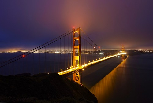 Golden Gate Bridge Glow