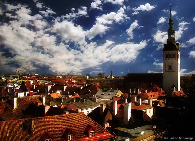 Tallin, Estonia - St. Olaf Church / Iglesia de San Olaf