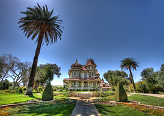 Morey Mansion in Wide Angle