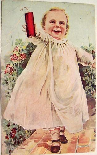 Vintage Postcard - 4th of July