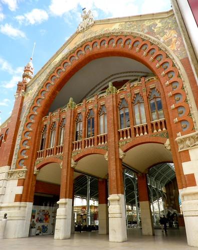 Valencia modernista. Mercado de Colón