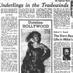 """Four Underlings of the Tradewinds"" - The Stroller - Houston Press, Pg. 11 - Tuesday, May 12, 1953"