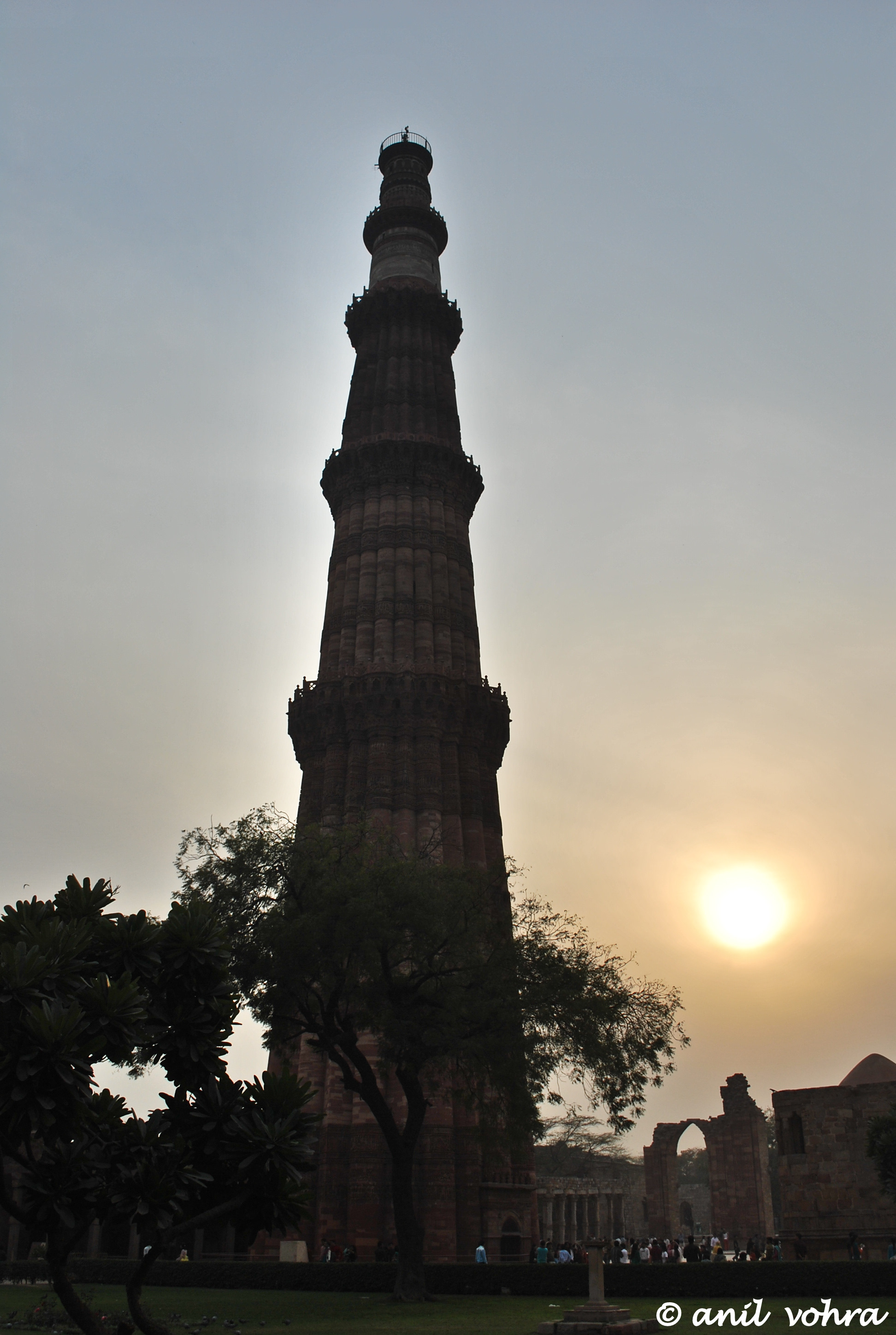 Sunset at Qutub