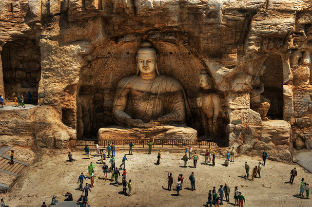 Yungang Buddhist Caves of China