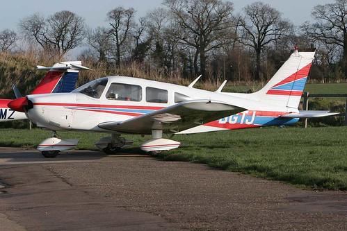 Piper PA-28-180 Cherokee G-BGTJ