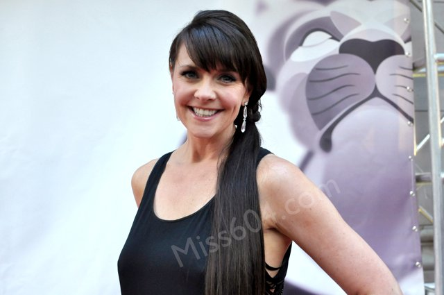 Amanda Tapping at the Leo Award...