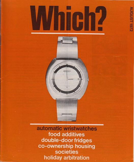 Which? Magazine August 1972