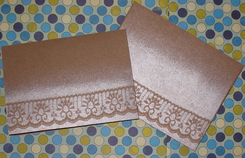 Lacey Note Card with Matching Envelope