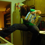 Outtake: kitchen shenanigans