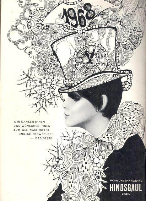 hindsgaul mannequin/ broshure 1963