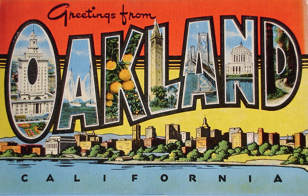 Greetings from oakland california postcard a photo on flickriver greetings from oakland california postcard m4hsunfo