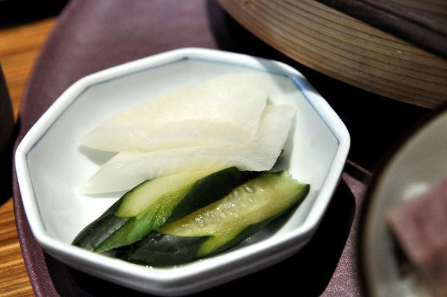 杏子豬排商業午餐-泡菜