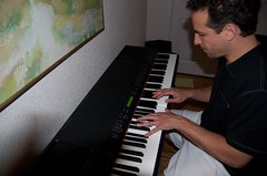 electronic device, musician, pianist, piano, musical keyboard, keyboard, jazz pianist, organist,