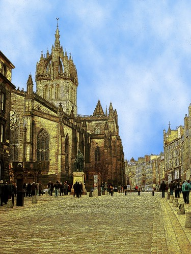 St.Giles Cathedral, Royal Mile, Edinburgh