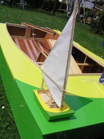 Peter's model of the Slovenia PDRacer/OzRacer