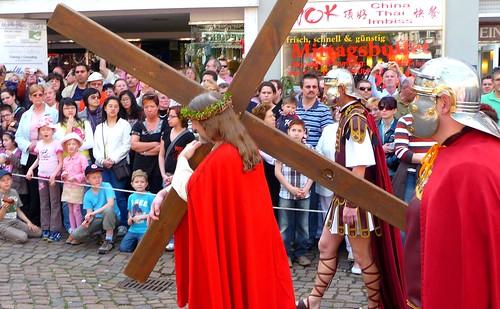 Jesus mit Kreuz by Ginas Pics