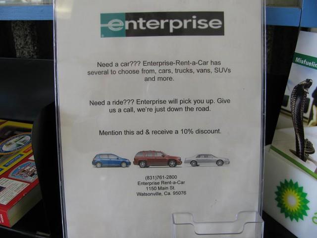 Enterprise Car Renmtal Victorville