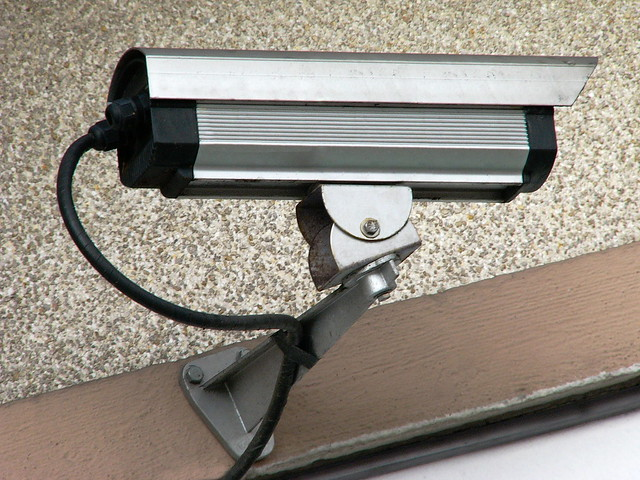 Caméra vidéo de surveillance