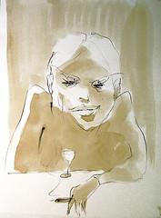 Pencil & Tea Drawings
