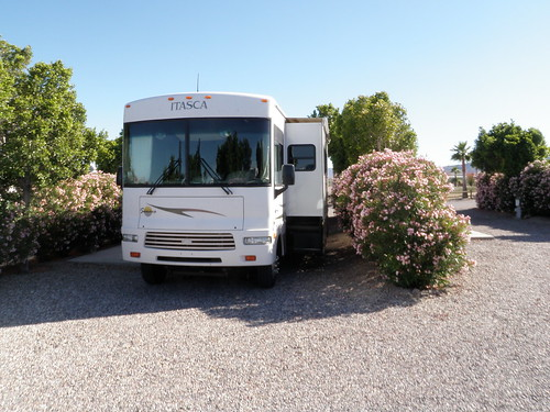 california park view desert may rv needles campground campsite 2010