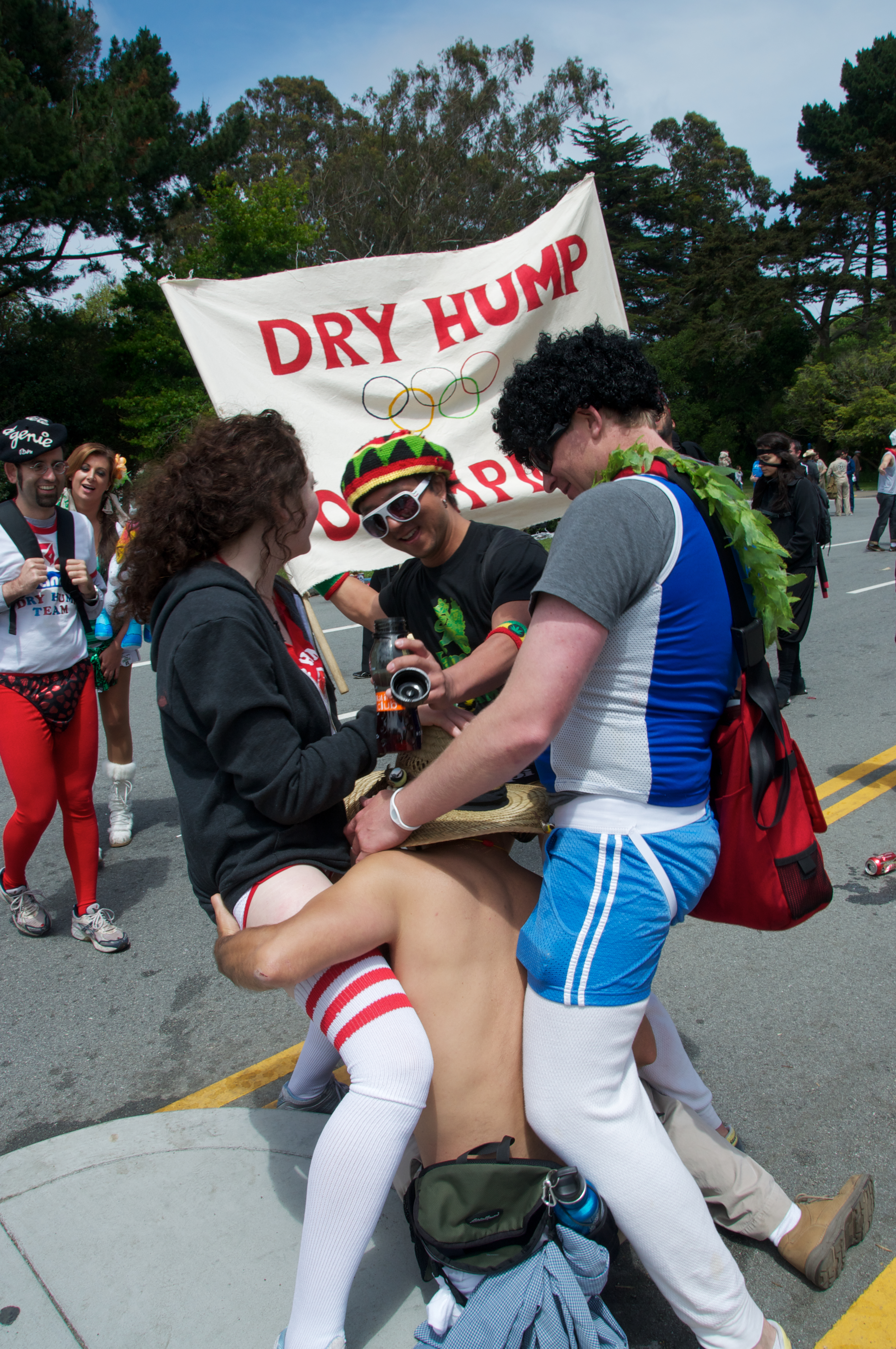 Having sex at bay to breakers