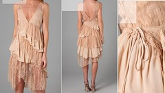 day dress, textile, clothing, pattern, cocktail dress, peach, fashion, dress,