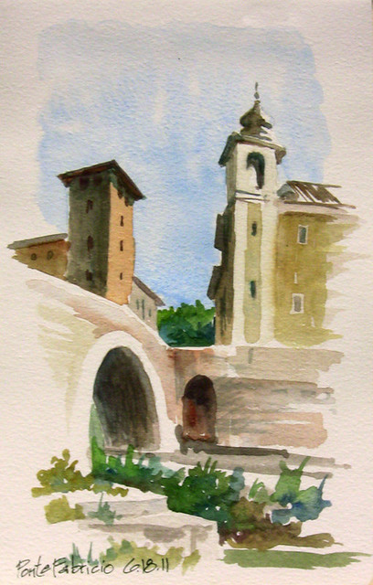 Ponte Fabricio - Roma, Italia